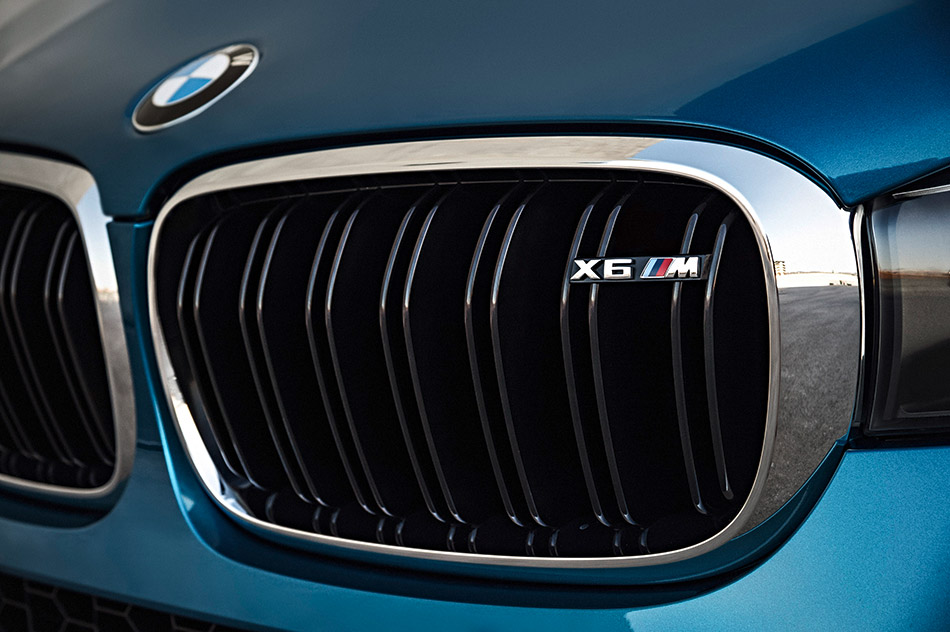 2016 BMW X6 M air intake grille