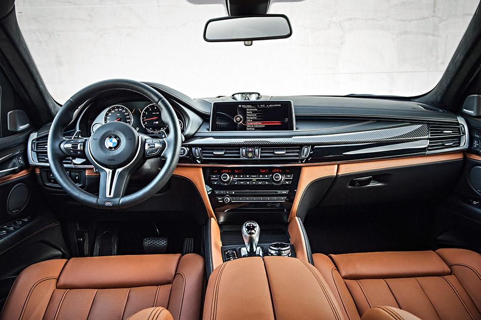 2016 BMW X6 M Interior