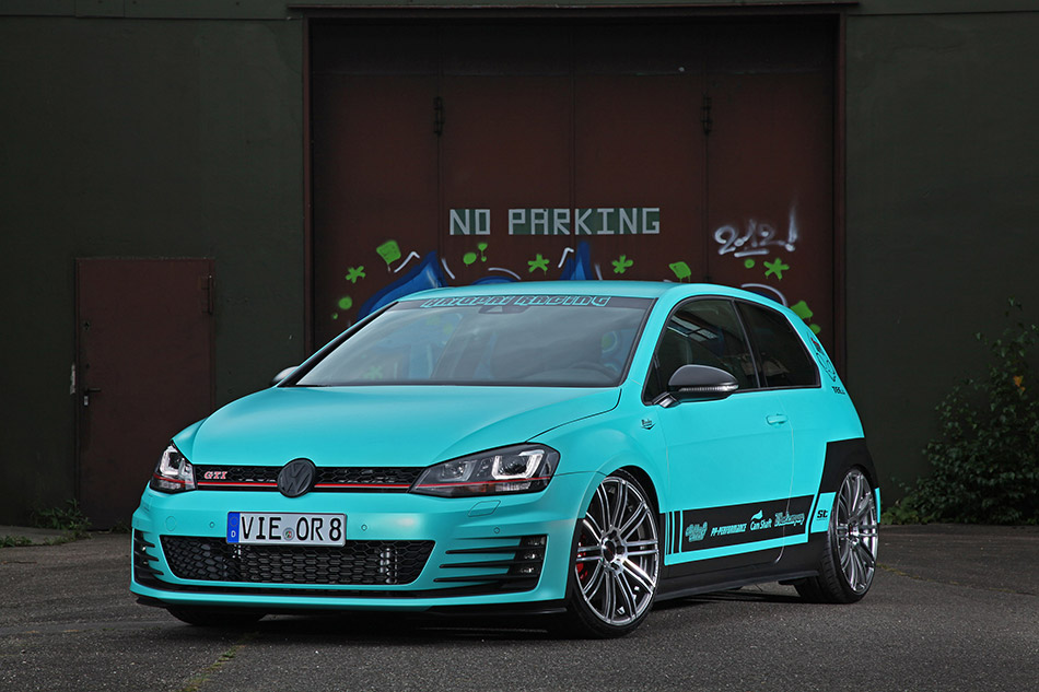 2014 Cam Shaft Volkswagen Golf GTI MK7 Front Angle
