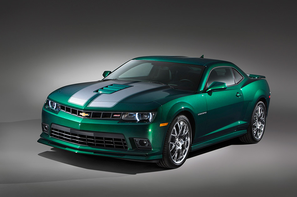 2015 Chevrolet Camaro SS Special Edition Front Angle