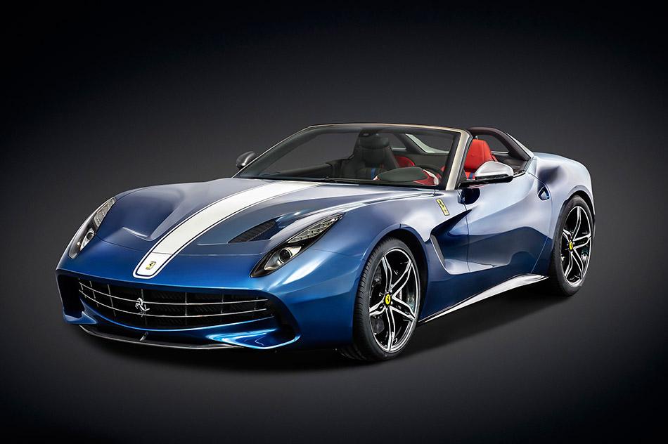 2015 Ferrari F60America Front Angle