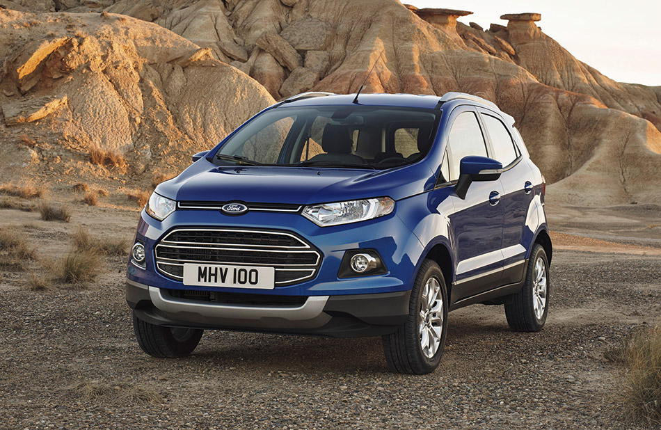 2014 Ford EcoSport Front Angle