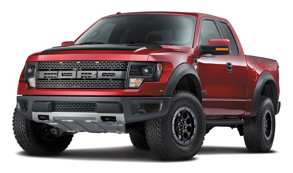 2014 Ford F-150 SVT Raptor Special Edition Front Angle