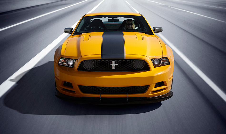 2013 Ford Mustang Boss 302 Front Angle
