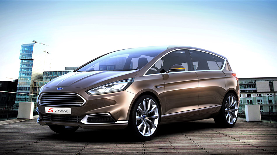 2013 Ford S-MAX Concept Front Angle