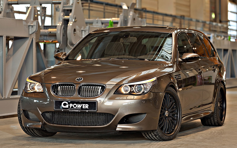 2014 G-Power BMW M5 Hurricane RR Touring Front Angle