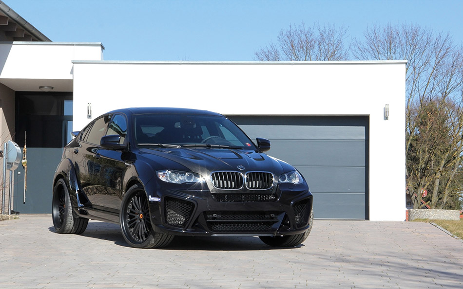 2014 G-Power BMW X6 M Typhoon Front Angle