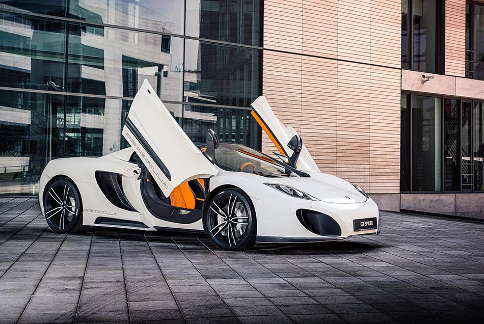 2013 Gemballa McLaren 12C GT Spider Front Angle