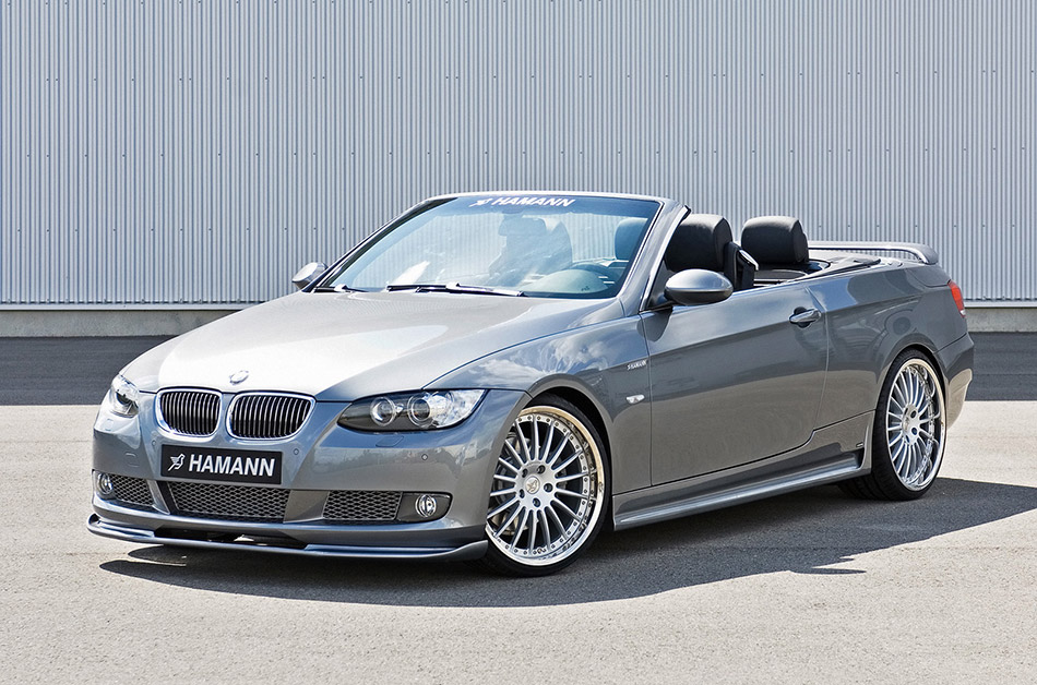 2007 Hamann BMW 3 Series Convertible Front Angle