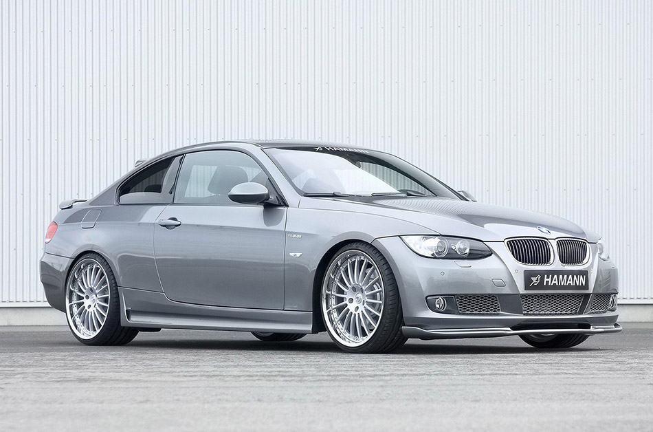 2007 Hamann BMW 3 Series Coupe Front Angle