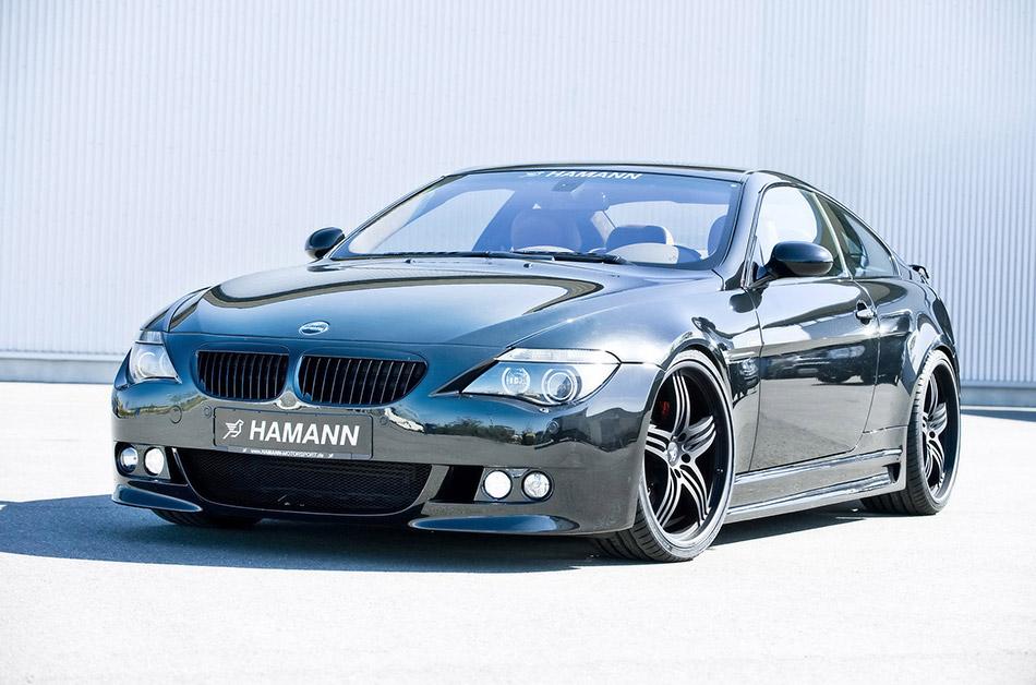 2008 Hamann BMW 6 Series Front Angle