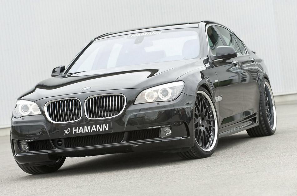 2009 Hamann BMW 7-Series Front Angle