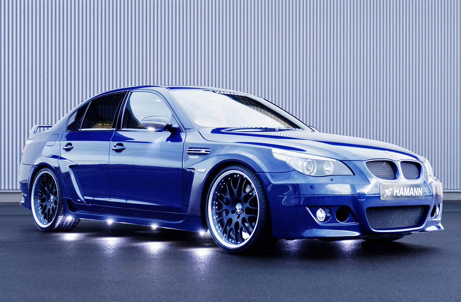 2006 Hamann BMW M5 Edition Race Front Angle