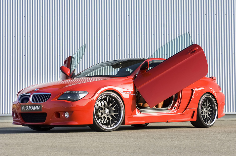 2007 Hamann BMW M6 Widebody Front Angle