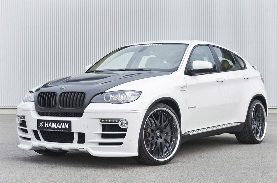 2009 Hamann BMW X6 Front Angle