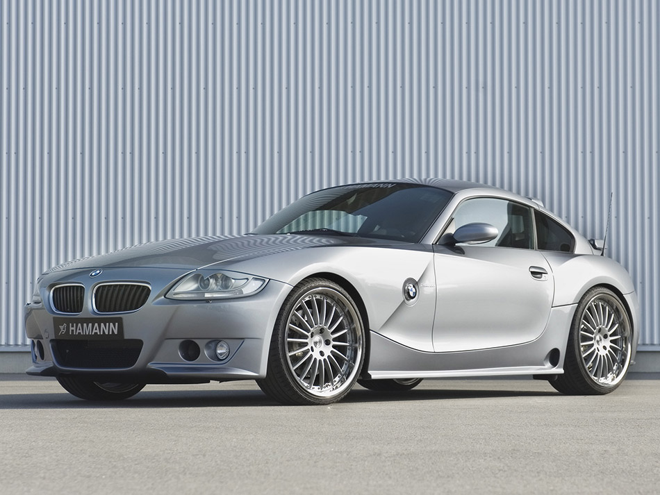 2007 Hamann BMW Z4 M Coupe Front Angle
