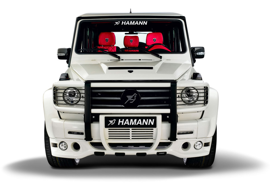 2009 Hamann Mercedes-Benz AMG G55 Supercharged Front Angle