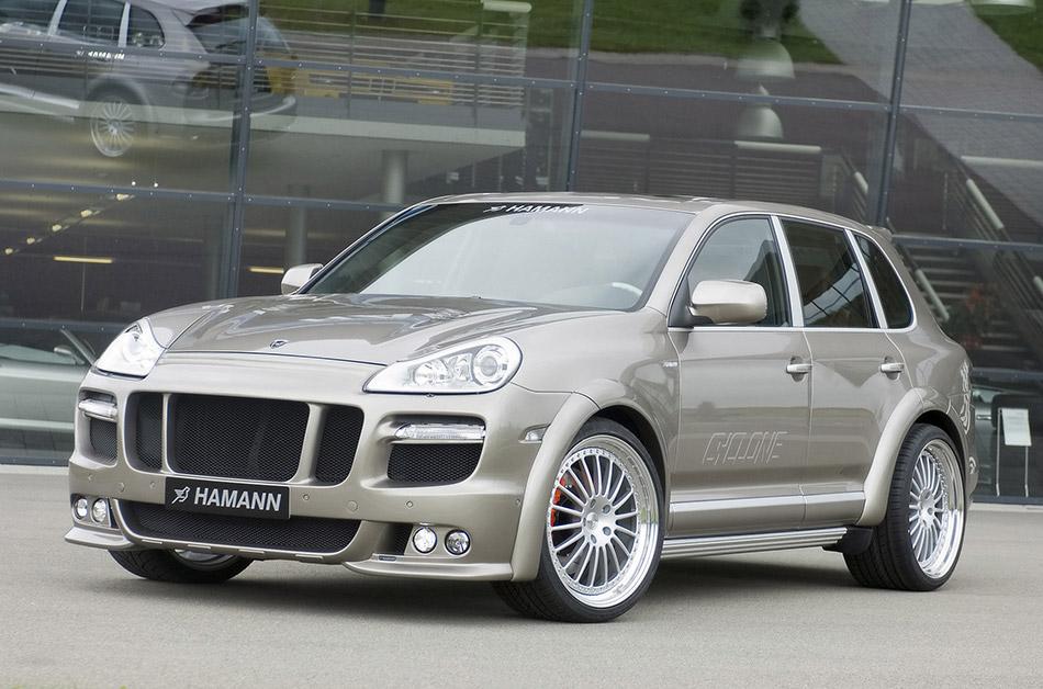 2008 Hamann Porsche Cayenne Cyclone Front Angle