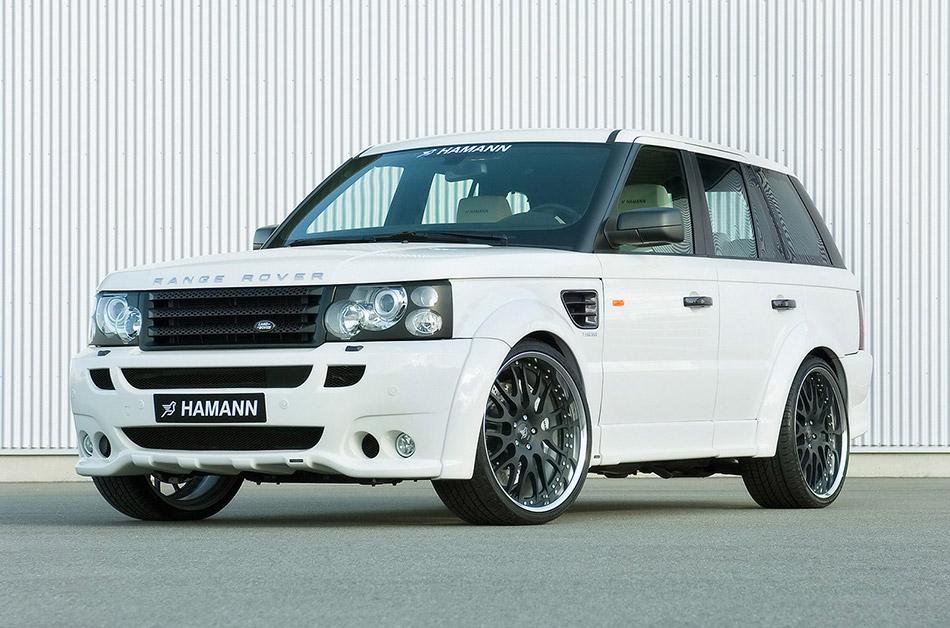 2007 Hamann Range Rover Sport Conqueror Front Angle