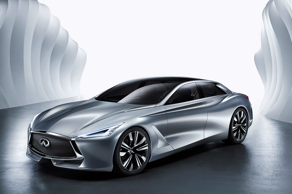 2014 Infiniti Q80 Inspiration Concept Front Angle