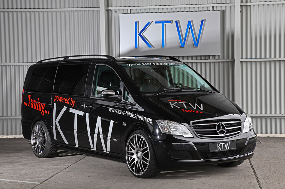 2014 KTW Mercedes-Benz Viano CDI BlueEFFICIENCY Front Angle