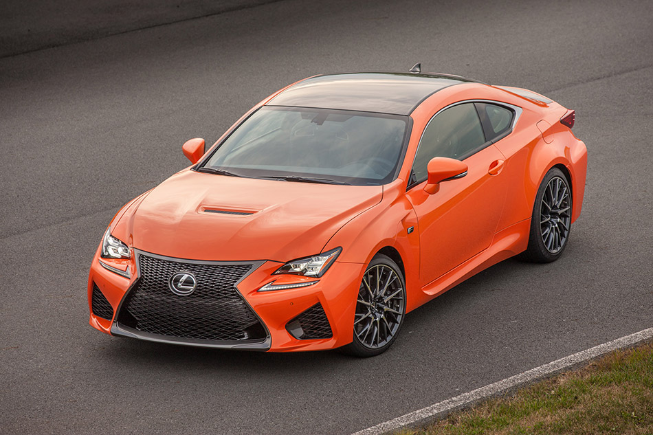 2015 Lexus RC F Front Angle
