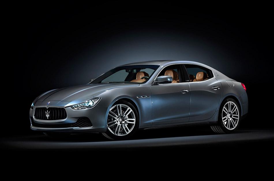 2014 Maserati Ghibli Ermenegildo Zegna Edition Concept Front Angle