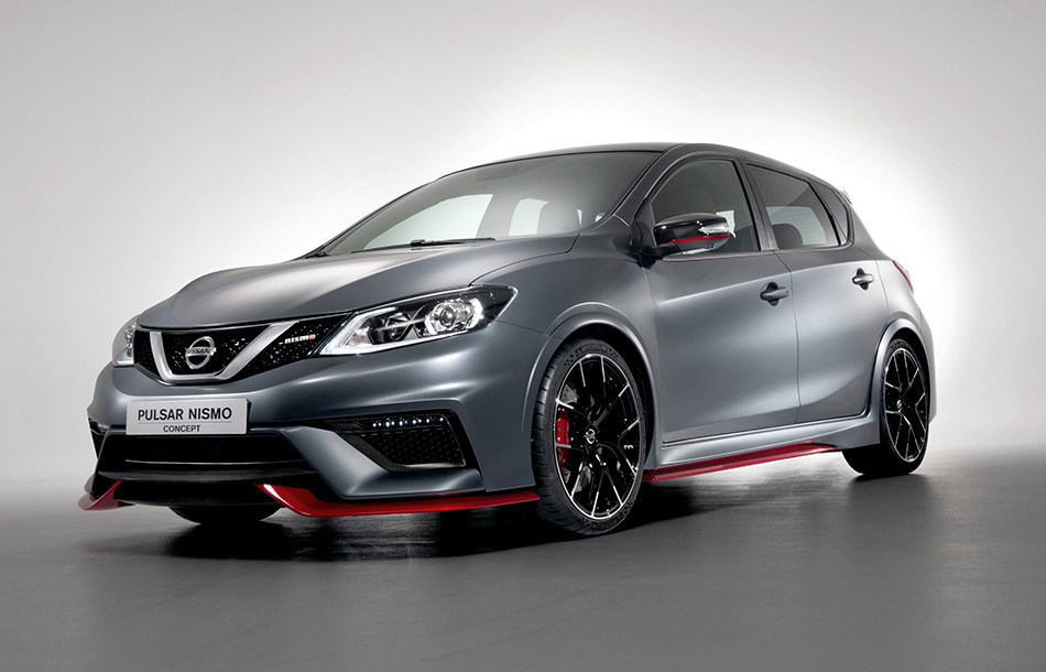 2014 Nissan Pulsar NISMO Concept Front Angle