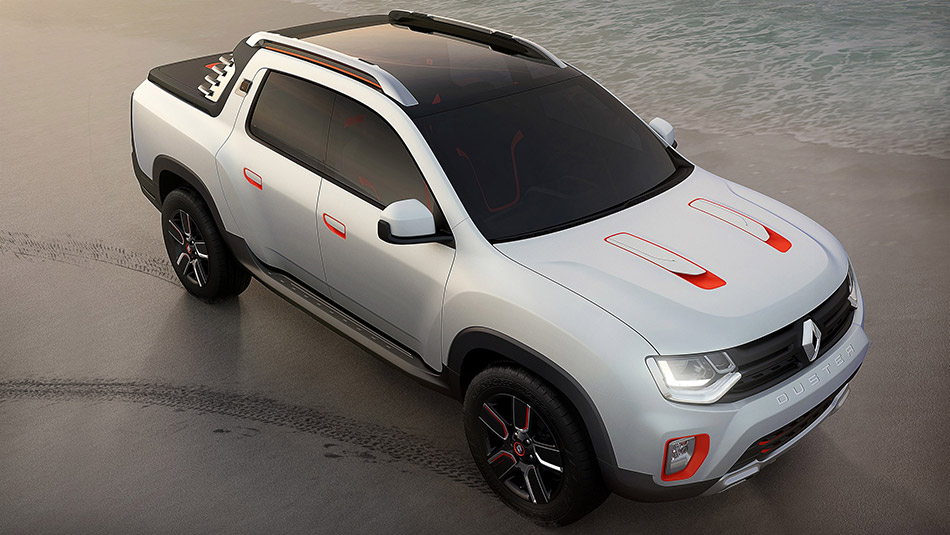 2015 Renault Duster Oroch Front Angle