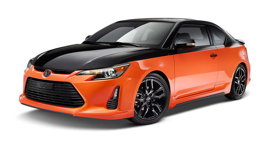 2015 Scion tC Release Series 9.0 Front Angle