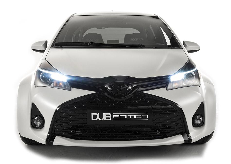 2015 Toyota Yaris DUB Edition Front Angle