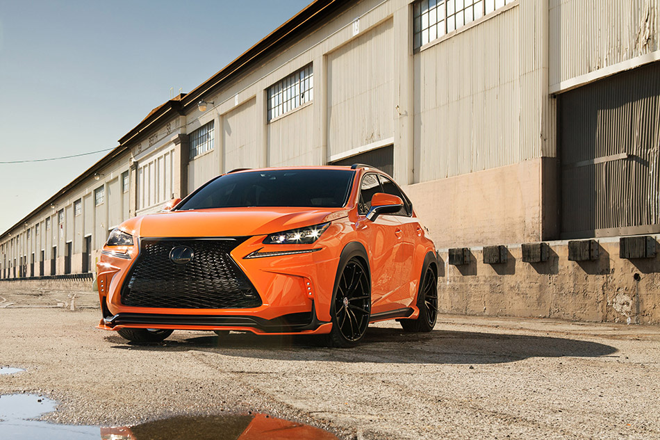 2015 360 Elite Motorworks Lexus NX 200t F Sport Front Angle