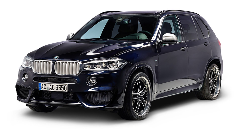 2014 AC Schnitzer BMW X5 F15 Front Angle