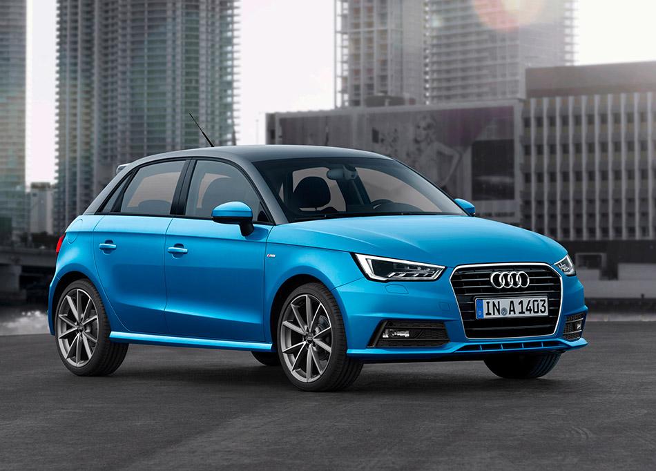 2015 Audi A1 Sportback Front Angle