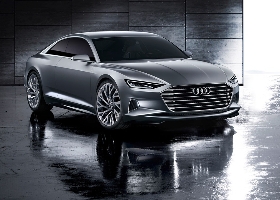 2015 Audi Prologue Concept Front Angle