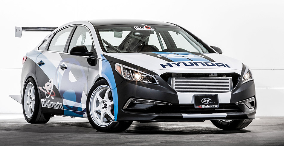 2015 Bisimoto Engineering Hyundai Sonata Front Angle
