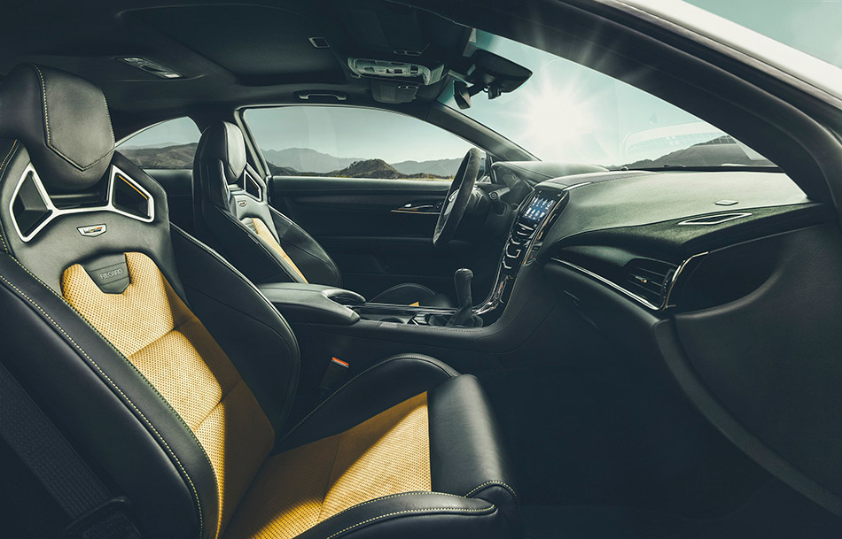 2016 Cadillac ATS-V Coupe Interior