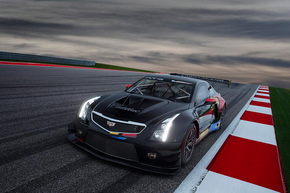 2016 Cadillac ATS-V Coupe Racecar Front Angle