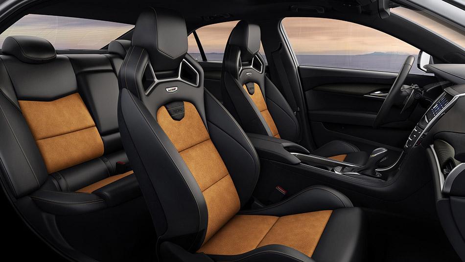 2016 Cadillac ATS-V Sedan Interior