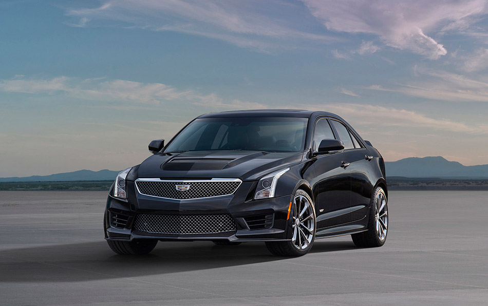 2016 Cadillac ATS-V Sedan Front Angle