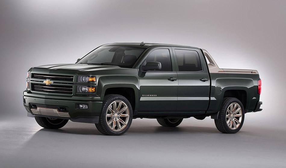 2015 Chevrolet Silverado High Desert Concept Front Angle