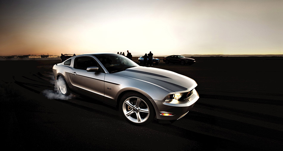 2011 Ford Mustang GT Front Angle