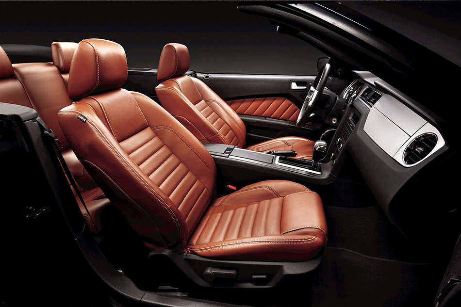 2011 Ford Mustang V-6 Interior