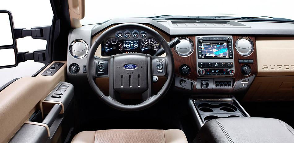 2011 Ford Super Duty Interior