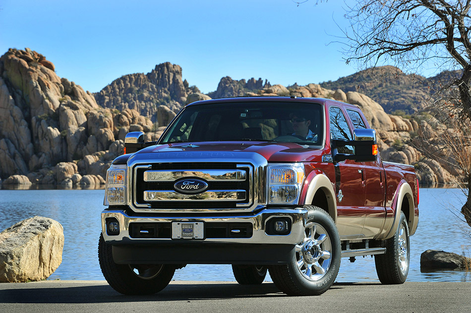 2011 Ford Super Duty Front Angle