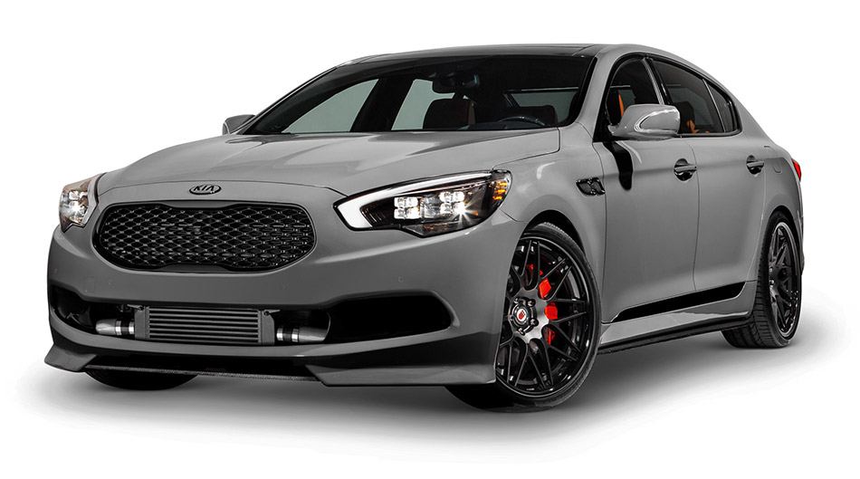 2015 High Performance Kia K900 Hd Pictures