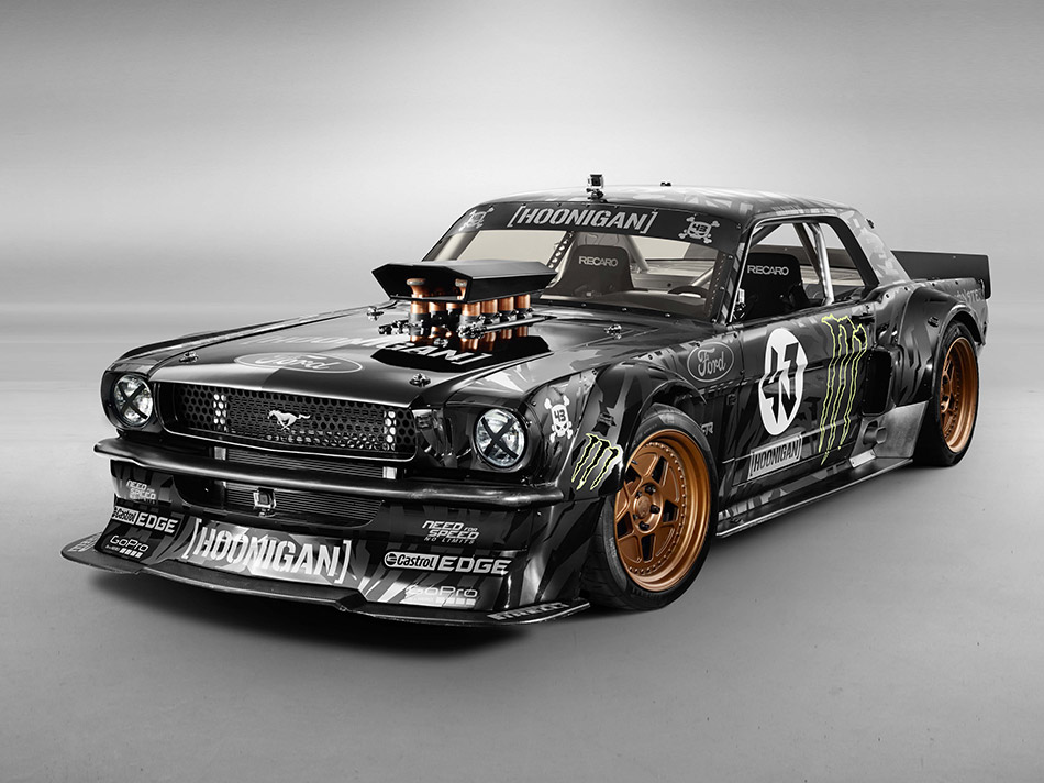 Hoonicorn RTR 1965 Ford Mustang Front Angle