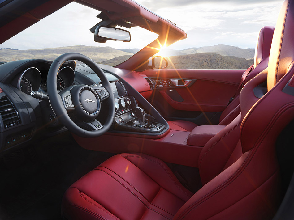 2016 Jaguar F-Type Interior