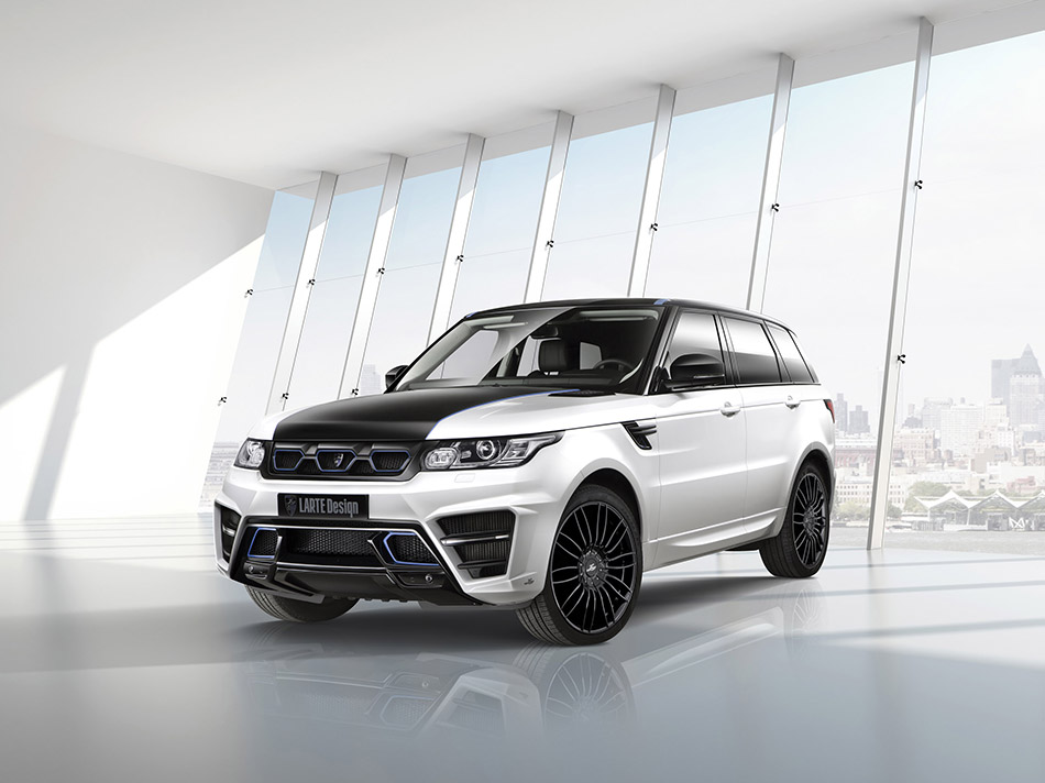 2014 LARTE Design Range Rover Sport Winner Front Angle