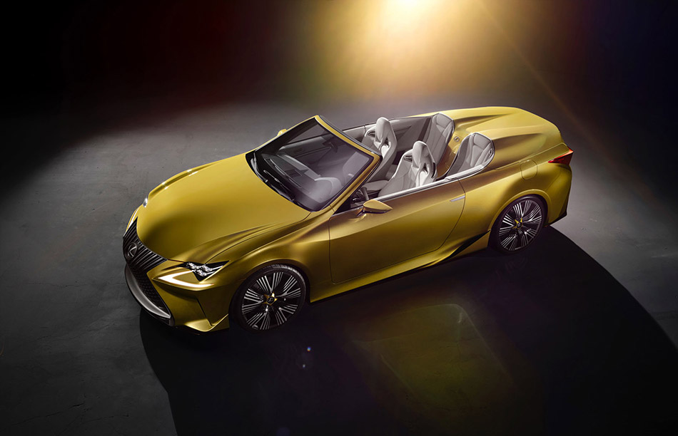 2014 Lexus LF-C2 Roadster Concept Front Angle